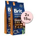 Brit Premium by Nature Senior Small a Medium 2 x 15 kg