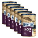 Happy Dog Pur - Lachs 6 x 400 g / losos, 5+1 GRATIS