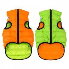 Vesta AiryVest Colar oranžovo-zelená, M 40
