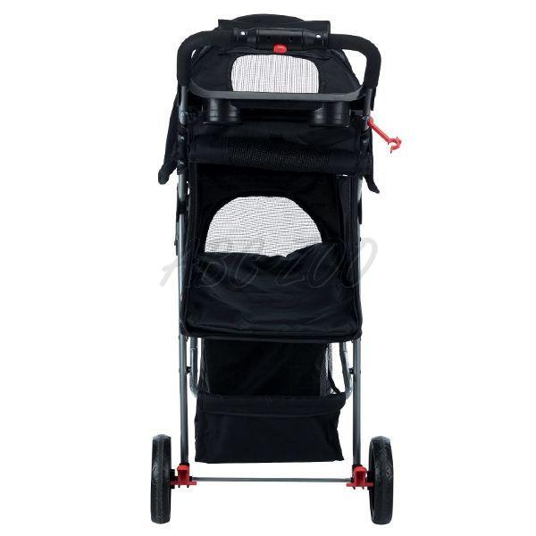 9e3bbd136 Kočík pre psy a mačky Buggy 47 x 100 x 80 cm, čierny | ABC-ZOO