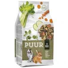 PUUR Rabbit - gurmánske müsli pre králiky 600 g