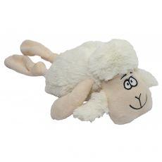 Plyšová pískajúca biela ovca, 35 cm