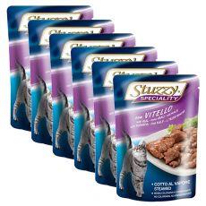 Stuzzy Speciality Cat - teľacie, 6 x 100 g