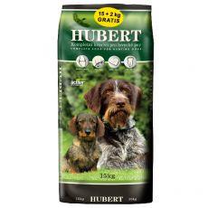 HUBERT krmivo pre lovecké psy 15 + 2 kg GRATIS