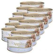 Applaws Cat - konzerva pre mačky s tuniakom a syrom, 12 x 70g