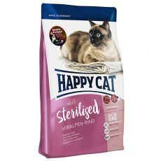 Happy Cat Sterilised Voralpen Rind / Hovädzie 10 kg