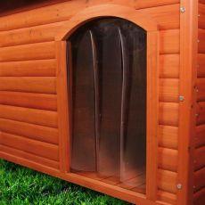 Dvierka na búdu pre psa, plastové - 33 x 44 cm