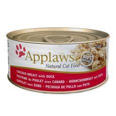 Konzerva Applaws Cat Chicken and Duck, 70 g