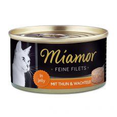 Konzerva Miamor Filet kura a prepeličie vajcia 100 g