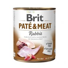 Konzerva Brit Paté & Meat Rabbit, 800 g