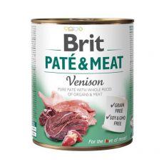 Konzerva Brit Paté & Meat Venison 800 g