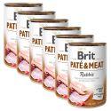 Konzerva Brit Paté & Meat Rabbit 6 x 400 g
