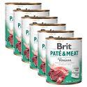 Konzerva Brit Paté & Meat Venison 6 x 800 g