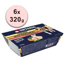 ONTARIO vanička Chicken with Vegetable - 6 x 320g