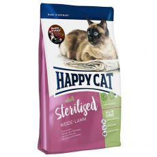 Happy Cat Sterilised Weide Lamm / Jahňa 4 kg