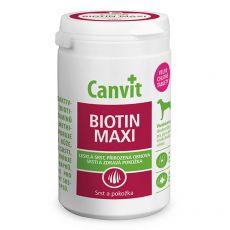 Canvit Biotin Maxi - prípravok na zdravú a lesklú srsť 166 tbl. / 500 g