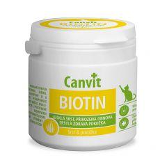 Canvit Biotin - prípravok na zdravú a lesklú srsť mačiek, 100g