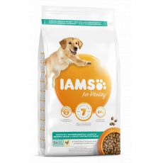 Iams Dog Adult Light in Fat, Chicken 12 kg