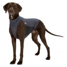 Repelentná vesta pre psy S, sivá