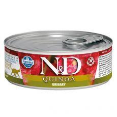 Farmina N&D cat Quinoa Urinary konzerva 80 g