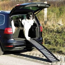 Plastová skladacia rampa pre psov, 39 x 160 cm