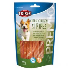 Trixie PREMIO Cheese Chicken Stripes, kura a syr 100 g