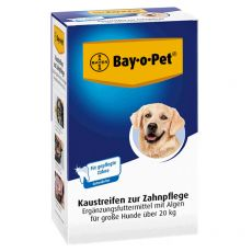 Bay-o-Pet Chewing Stripes for Dental Care 140 g