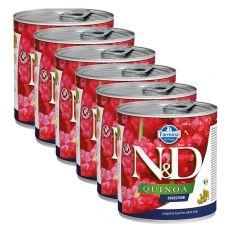 Farmina N&D dog Quinoa Digestion konzerva 6 x 285 g