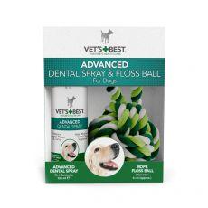 Dentálny sprej + bavlnená lopta VET´S BEST