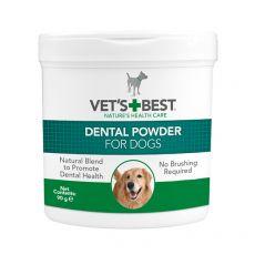 Dentálny prášok na zuby pre psy Dental Powder VET´S BEST, 90 g