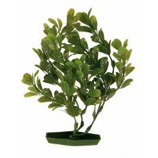 Plastová rastlinka do akvária 28 cm, zelené listy