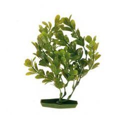 Plastová rastlinka do akvária 17 cm, zelené listy
