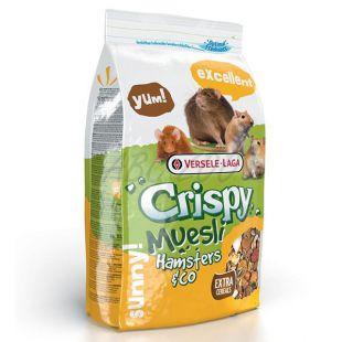 Crispy Muesli Hamsters & Co - krmivo pre hlodavce, 1kg