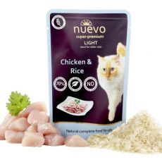 Kapsička NUEVO CAT Light Chicken & Rice 85 g