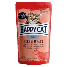 Kapsička Happy Cat ALL MEAT Adult Beef & Heart 85 g