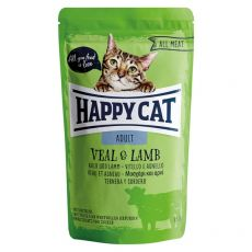 Kapsička Happy Cat ALL MEAT Adult Veal & Lamb 85 g