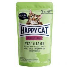 Kapsička Happy Cat ALL MEAT Adult Sterilised Veal & Lamb 85 g