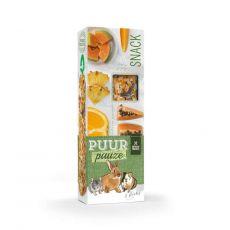 PUUR PAUZE sticks Exotic Friut - tyčinky s exotickým ovocím pre hlodavce 2 ks