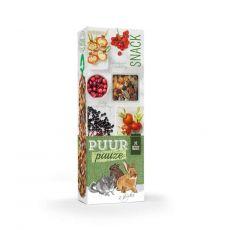PUUR PAUZE sticks Forest Fruit - tyčinky s lesným ovocím pre hlodavce 2 ks