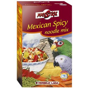 Mexican Spicy Noodle Mix 400g - krmivo pre papagáje