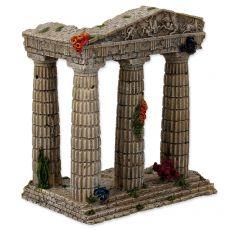 Dekorácia do akvária Zrúcanina chrámu 15,5 x 9,5 x 16,2 cm