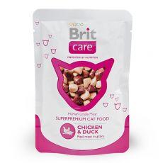 Kapsička Brit Care Cat Chicken & Duck 80 g