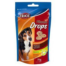 Trixie Vitamin Drops - vitamínové dropsy ( šunka) - 75 g