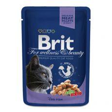 Kapsička BRIT Premium Cat Cod Fish 100 g