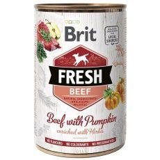 Konzerva Brit Fresh Beef with Pumpkin 400 g