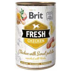 Konzerva Brit Fresh Chicken with Sweet potato 400 g