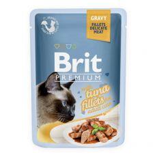 Kapsička BRIT Premium Cat Delicate Fillets in Gravy with Tuna 85 g