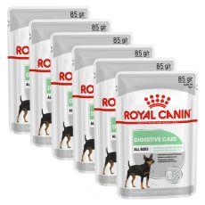 Royal Canin Digestive Care Dog Loaf kapsička s paštétou pre psy s citlivým trávením 6 x 85 g, 5+1 GRATIS