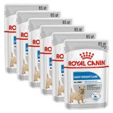 Royal Canin Light Weight Care Dog Loaf diétna kapsička s paštétou pre psy 6 x 85 g