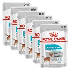 Royal Canin Urinary Care Dog Loaf kapsička s paštétou pre psy s obličkovými problémami 6 x 85 g, 5+1 GRATIS